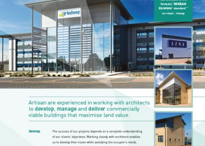 Artisan Developments Advert