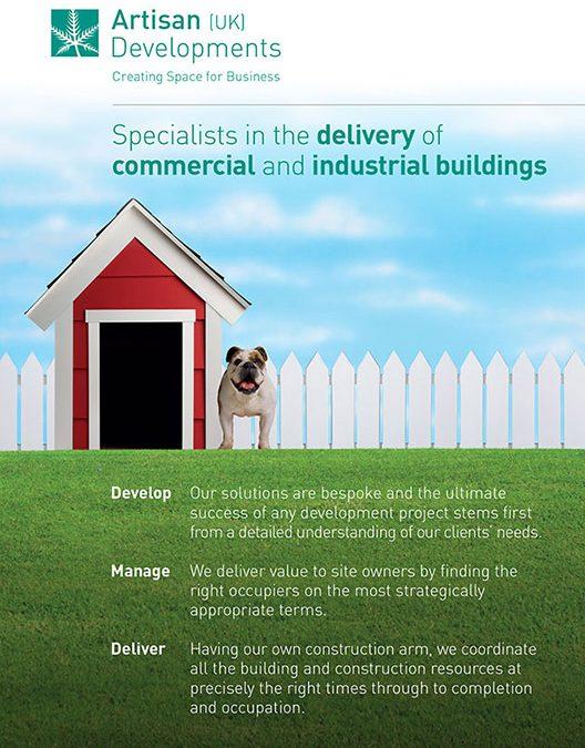 Artisan Developments Suffolk Dog Day advertisement