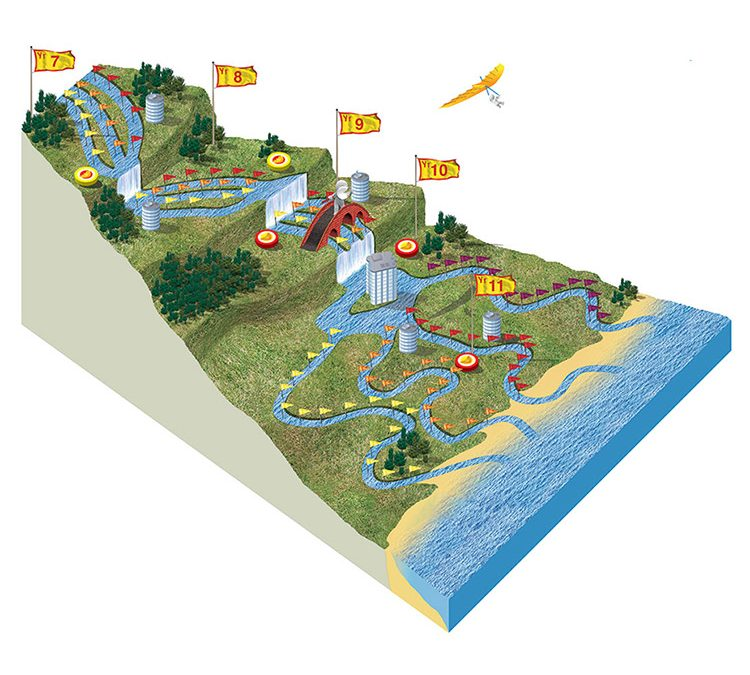 Clacton Coastal Academy Education Pathway illustration
