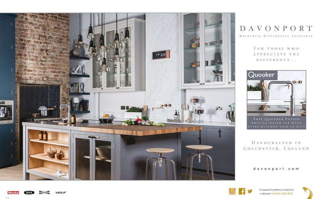 Davonport Handmade Kitchens advertisement
