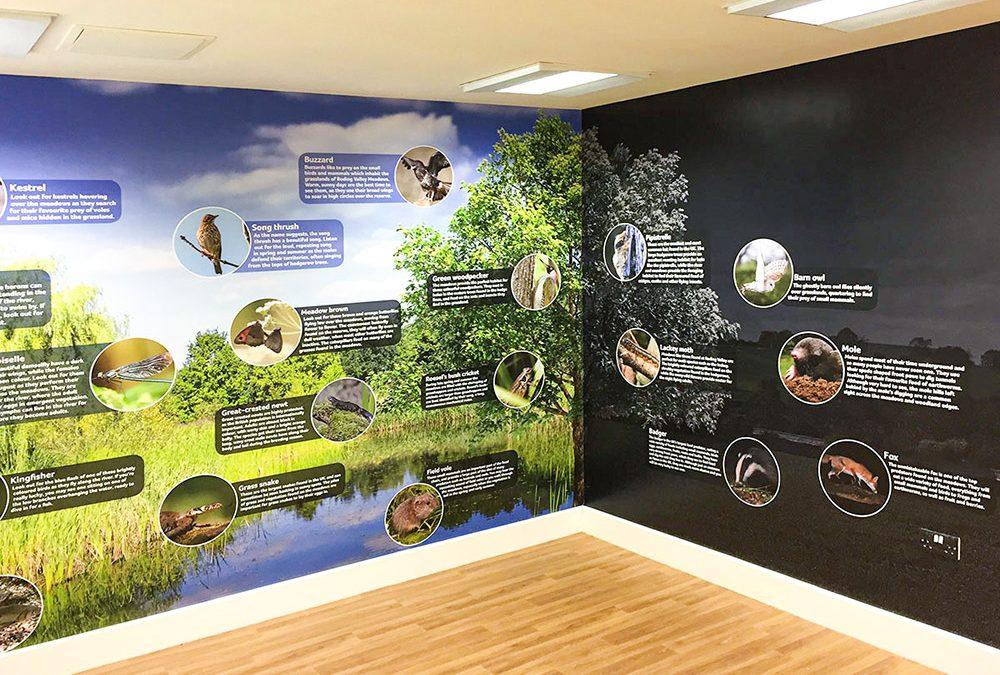 Grange Farm interpretation room