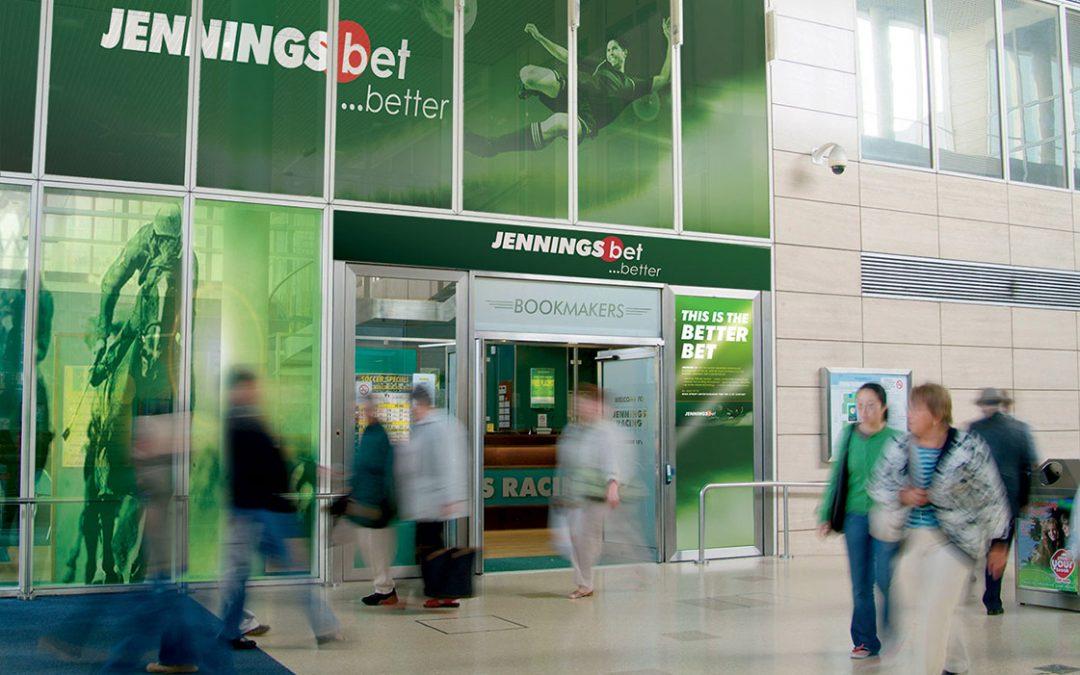 Jennings Bet Shop window display
