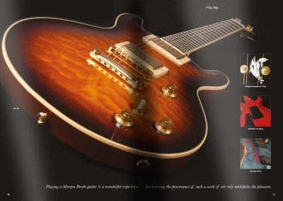 Martyn Booth Guitars Brochure