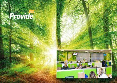 Provide Internal Environment Design