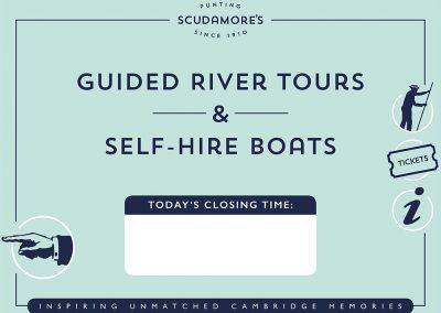 Scudamores Signage