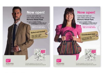 St Nicholas Hospice Care Retail Posters