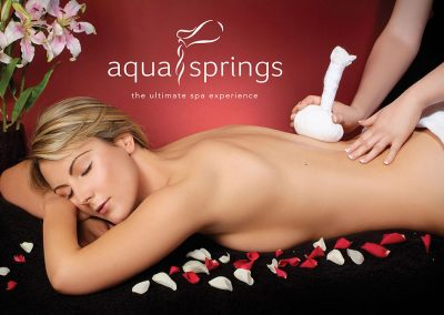 CLW Aqua Springs Signage