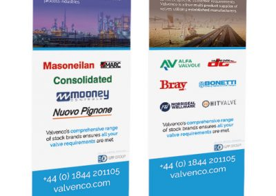 Valvenco Roller-Banners