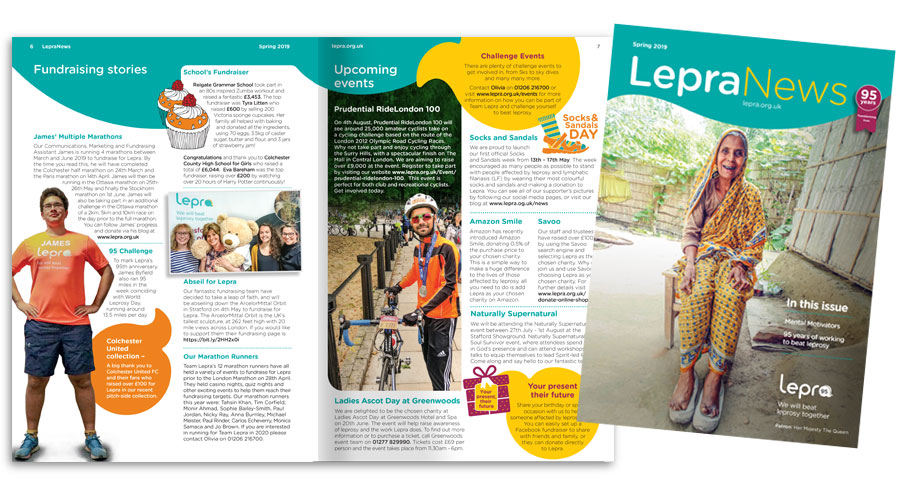 Spring News completed for Lepra