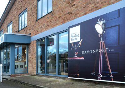 Davonport External Signage