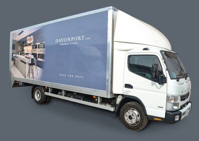Davonport Truck Livery
