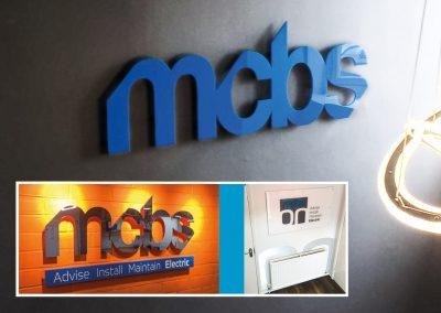 MCBS Internal Signage