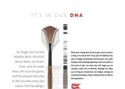 Target Darts DNA