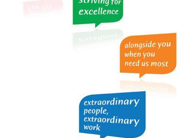 St Nicholas Hospice Care Logos Range