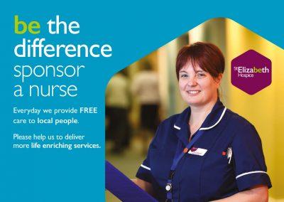 St Elizabeth Hospice Sponsor-a-Nurse Mailout