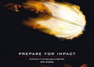Target Darts Impact Poster