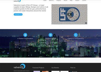 Valvenco Website