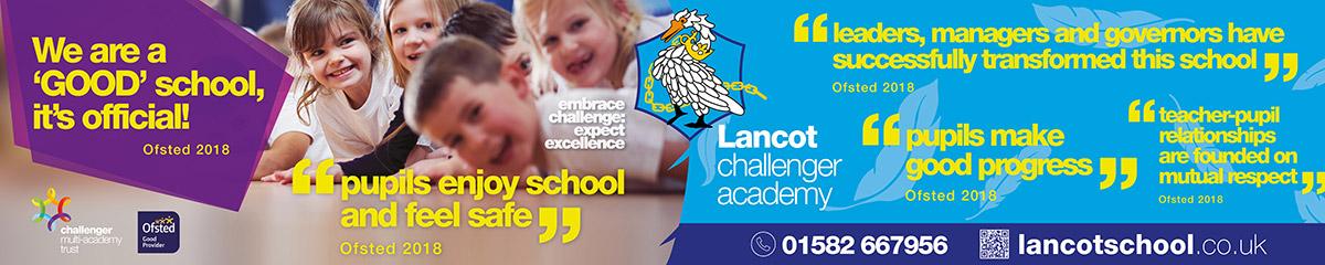 CMAT Lancot Challenger Academy Railings Banner