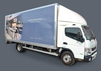 Davonport Truck Livery
